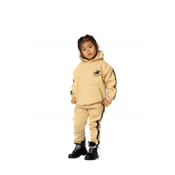 Cotton girl tracksuit Star...