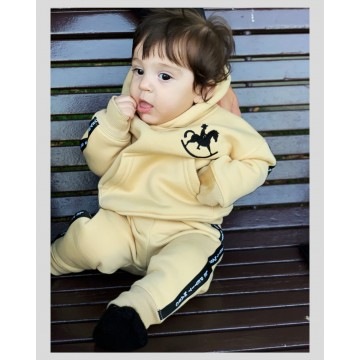 Cotton baby tracksuit Star...